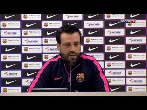 Ricard Muñoz  'Tenemos ganas de conseguir el título'