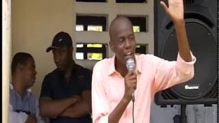 VIDEO: Haiti - President Jovenel Moise di Electricite 24 sou 24 Les Irois, Route Tiburon Les Irois pwal fet