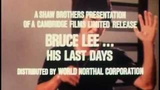 BRUCE LEE... HIS LAST DAYS, HIS LAST NIGHTS (SB) 16mm TV spot