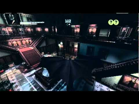 Batman Arkham City Predator Challenge room- wayne manor main hall (Batman)