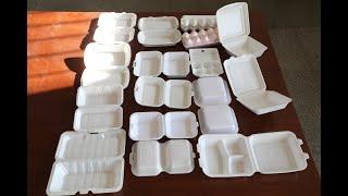 ps take away fast food lunch box forming machine, ps foam food bowl making machine
