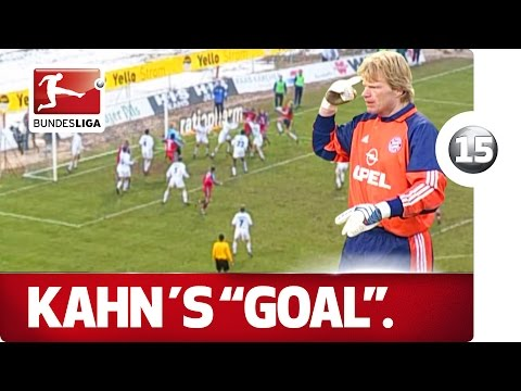 Crazy Oliver Kahn - Advent Calendar Number 15