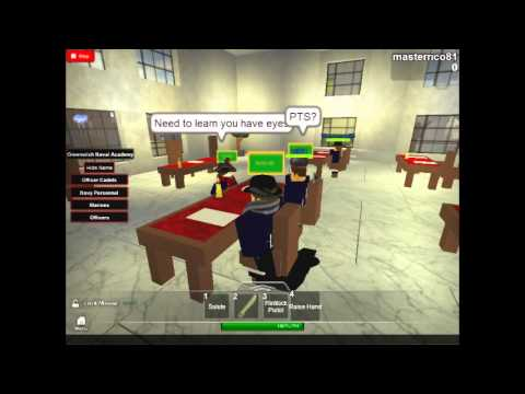 [Roblox] TGNB Greenwich academy mini-class video. - 01/22/2014