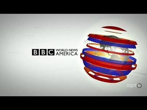 BBC World News America from LA - Virtual Studio