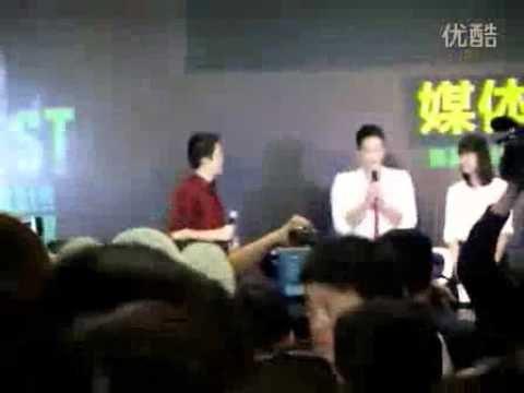 [Rain (Bi) Fancam]110524 Rain @ 'The Best' concert in Shanghai Press Con &amp; Fan Meeting_0751