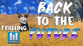 Back To The Future and TROLLING Ser Winter! - [Rust]