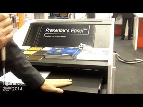 ISE 2014: Comm-Tec Exhibits L-5 Lectern System by Middle Atlantic