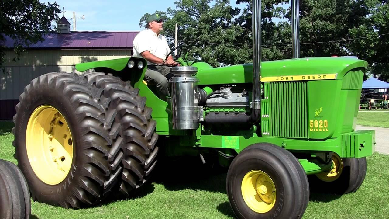 1967 John Deere 5020 Diesel Tractor Youtube