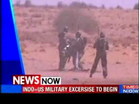 Indo-US military exercise to begin