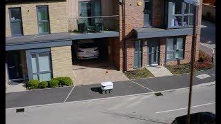 Starship Delivery Robots in Milton Keynes