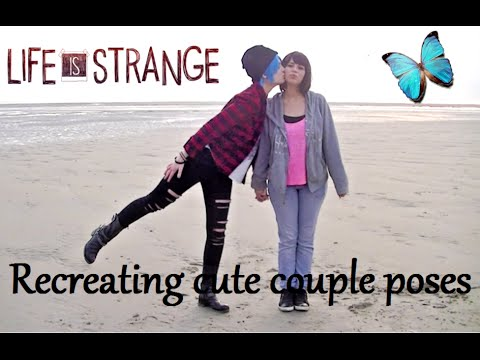 LIFE IS STRANGE - Recreating Cute Couple Poses! (Pricefield)