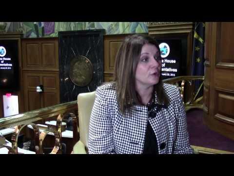Rep. Melanie Wright discusses her legislative priorities for 2015