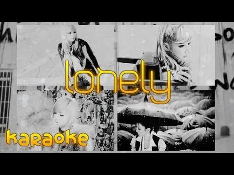 2NE1 - Lonely Japanese Version [karaoke]