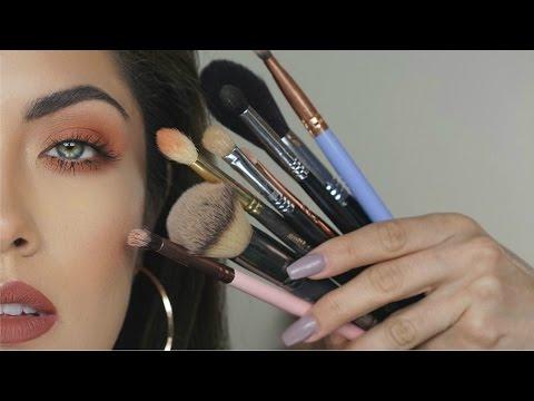 Essential Makeup Brushes for Everyday Makeup {QTT} | Melissa Alatorre