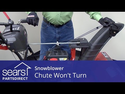 Snowblower Chute Won't Turn: Chute Control and Gearbox Issues