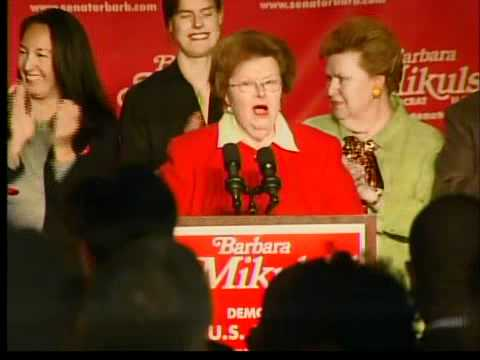Barbara Mikulski Speech