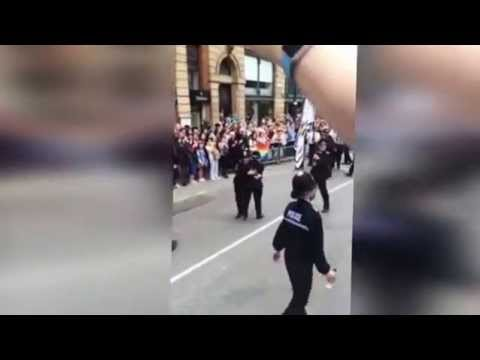 Dancing copper entertains the crowds at Manchester Pride [NEWS]