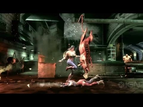 Injustice: Gods Among Us - Wonder Woman vs. Harley Quinn