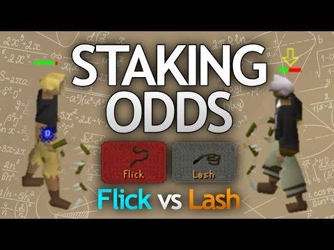 Staking Odds Confirmed (Flick vs Lash)