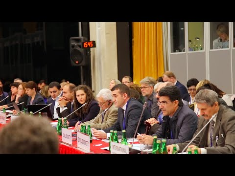 Ahmad Shahidov makes speech on freedom of media in Azerbaijan - OSCE Warsaw Meeting