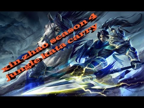 Xin Zhao Season 4 Jungle Kata Carry video
