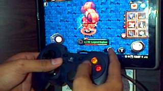 [Android] Playing an Online Game with Gamepad (Ragnarok Online : Valkyrie Uprising)