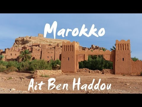 Marokko (deutsch): Ait Ben Haddou - Vlog #75