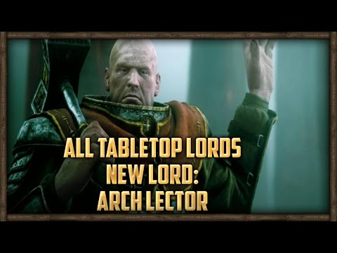 ALL TABLETOP LORDS: NEW ARCH LECTOR LORD VS 2,000 ORCS