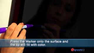Fluorescent Liquid Chalk Markers