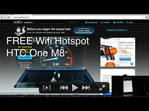 HTC One M8 Enable FREE Wifi Tether 4G HotSpot!