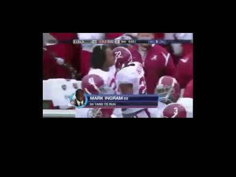 Mark Ingram Highlight Video