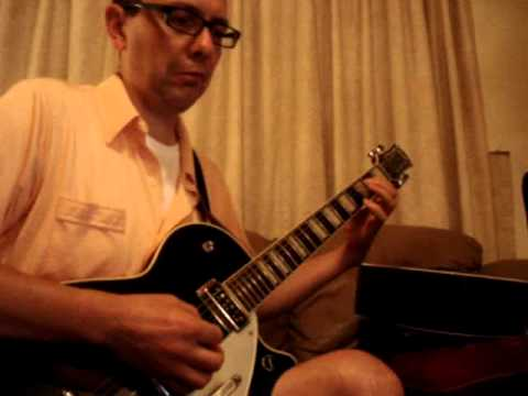 Blue Jean Bop - Cliff Gallups guitar work played by Jimi Cooper