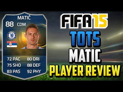 Fifa 15 TOTS Matic Review (88) w/ In Game Stats & Gameplay - Fifa 15 Player Review