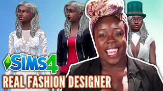 Fashion Designer Creates A Look Book In The Sims 4 • Professional Play