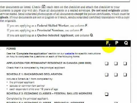 Tutorial aspectos importantes formularios y anexos emigrar Gobierno ...