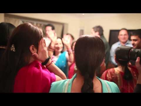 Indian Wedding Ladies Sangeet Bridgwater Somerset | Fun Dancing...