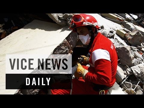 VICE News Daily: Using Radar to Search the Rubble