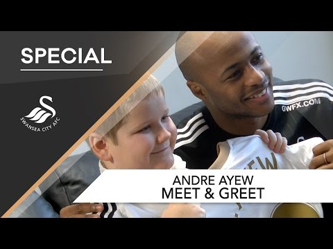 Swans TV - Andre Ayew Meet & Greet