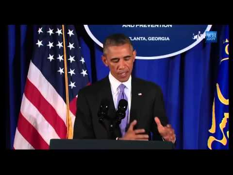 [POWERFUL SPEECH] President Obama statement on Ebola outbreak in West Africa (VIDEO)