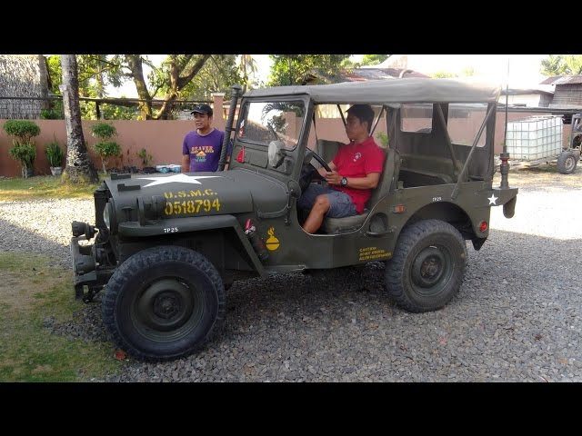 1945 Willys Military Jeep For Sale Luzon, Bulacan, Philippines