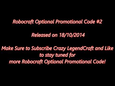 ROBOCRAFT PROMO CODE #2 - YouTube