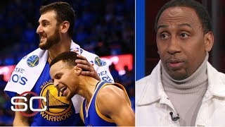 Andrew Bogut is the Warriors' 'security blanket to another title' - Stephen A. Smith | SportsCenter