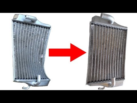 Tech Lesson 12   Repairing A Bent Radiator