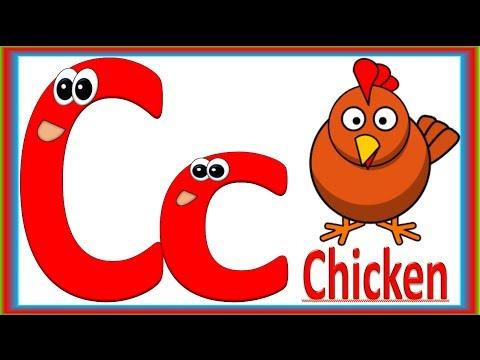 alphabet animals for children w song abecedario con animales en
