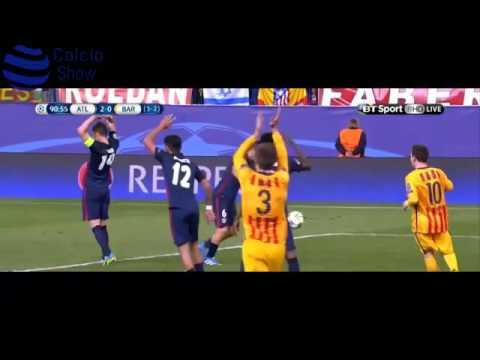 Atlético elimina al Barcelona de la Champions League 2016 (Jorge Ramos - ESPN Deportes Radio)