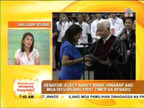 Why Nancy Binay shunned debates