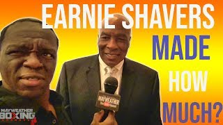 Boxing Greats reveal how much they got paid for their first fight......OMG Earnie Shavers!!