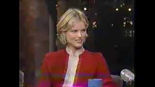 Eva Herzigova - Late Night w/ David Letterman
