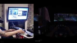 GTA 5 PC OCULUS RIFT DK2 , G27 & RAZER HYDRA COMBO