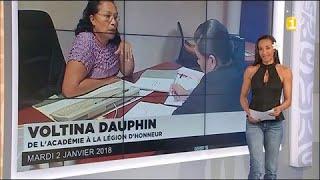 Voltina Dauphin : de l'Académie à la Légion d'honneur